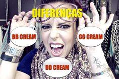 Diferenças entre BB cream, CC cream e DD cream! Muitas siglas e muita confusão. - truques de maquiagem / paola gavazzi