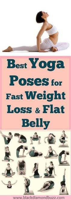 Yoga Poses How To Lose Weight Fast? If you want to lose weight badly and achieve that your dream weight, you can naturally lose that stubborn fat in 10 days with this best yoga exercises for fast weight loss from belly , hips , thighs and legs. It also #h