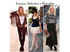 Atreva-se: Franjas, Babados e Plissados http://tempodemoda.com.br/blog/2013/07/18/atreva-se-franjas-babados-e-plissados/