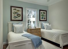 beach house shared bedroom