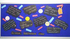 İzmir Şehir Koleji Öğretmenler günü pano çalışması