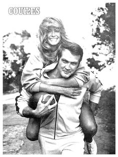 Lee Majors & Farrah Fawcett