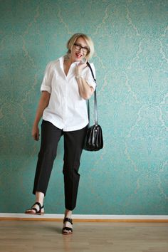 glam up your lifestyle : Casual chic in black & white