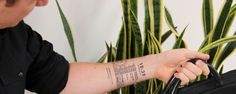 Who needs an Apple Watch if you can have all the same information displayed directly on your body?   Imagine having a tattoo in your body that you can control from your own iPhone app. Change up your tattoo art, show important messages, or just erase your tattoo altogether for that important job interview. Well, the future has arrived... thanks to groundbreaking subdermal E Ink technology, we have been able to develop the world's first E Ink tattoo and mobile app.