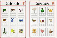 Lernstübchen: Abhörkarten Sch und Au