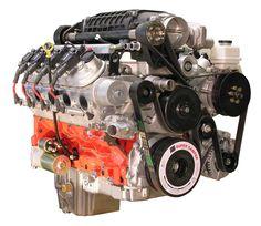LSx 427 Engine with TVS2300 Magnuson Supercharger & T56 Magnum Transmission - 838 HP - spsengines.com