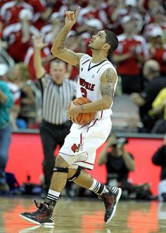 Peyton Siva - a very nice Spiritual Man, I know that he will do well with the Ball!