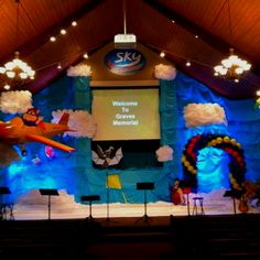 VBS SKY 2012 Stage