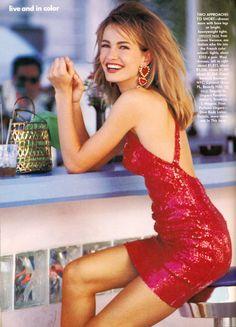 Karen Mulder | Photography by Patrick Demarchelier | For Vogue US | March 1991