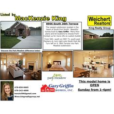 Open today from 1-4! New construction in the heart of Fort Smith!