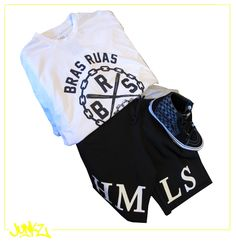 Camiseta: BRAS RUAS Bermuda: HUMILIS Tênis: VANS  www.junkz.com.br