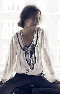 by Noa Noa. Is there an age that I will outgrow my love of peasant tops? I certainly hope not!