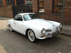 White Karmann Ghia