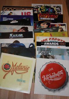 Vinyl Sammlung + Rock/Pop + Streisand + Lionel Richie + Peter Gabriel