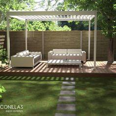 Un lugar perfecto para relajarte. visita homify.com.mx y descubre más ideas. www.homify.com.mx/habitaciones/jardines
