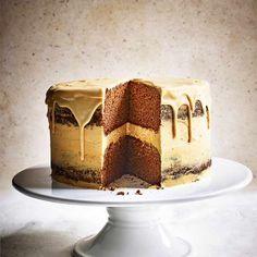 Jamaican ginger and caramel cake