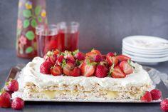 CakeByMary - Krispig marängtårta med lemoncurd