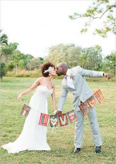 love wedding banner