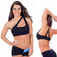 The One Shoulder Sports Bra is an exclusive design of Affitnity. If you are looking for a one shoulder sports bra that is unique and stylish then you are in the right place. The one shoulder sports bra is by far our best seller.  The fans rave about the look and feel of it.  We have no doubt you will love this stylish top as well!
