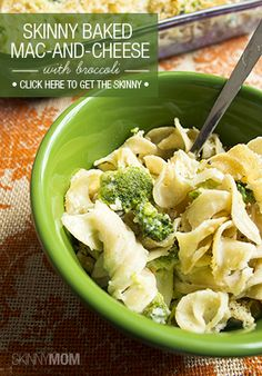 mom skinny baked mac and cheese with broccoli a new twist on mac ...