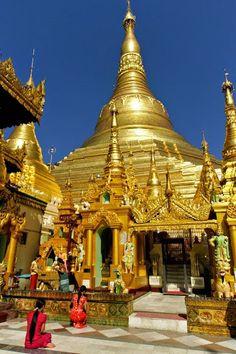 templo  de oro   Birmania Google+