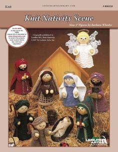 Knit Nativity Scene ePattern - Leisure Arts