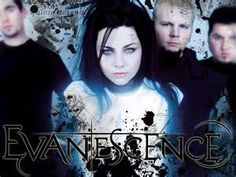 Evanescence.  Loved them in High School.  Their music really spoke to me.  I listened to them the whole way to Louisiana for our Senior Trip.  Amazing Group.