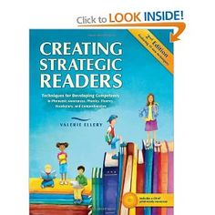 It is AMAZING how this book fits with the CAFE strategies that I have been teaching.  It blends all of my favourite authors on the teaching of reading. :D  The CD includes assessments and strategies for use by emergent, early, transitional and fluent readers.
