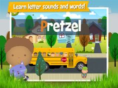 Learn letter sounds and words!
