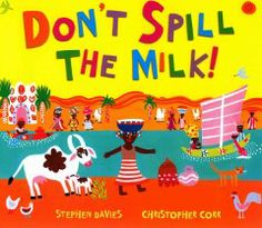 CountyCat - Title: Don't spill the milk!