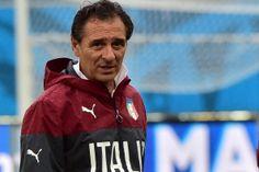 Italy's coach Cesare Prandelli!
