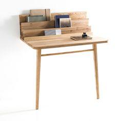 Le Scriban desk/console wooden brown | desk . Schreibtisch . bureau | Design: Margaux Keller | flodeau |