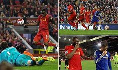 11 May 2016 / Liverpool 1-1 Chelsea: Christian Benteke scores 93rd-minute equaliser to cancel out brilliant individual goal by Eden Hazard...