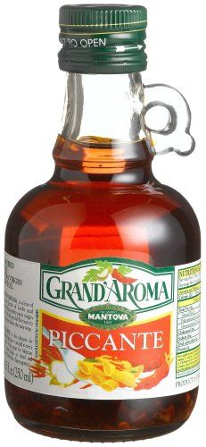 Grand'aroma Piccante Extra Virgin Olive Oil, 8.5-Ounce Bottles (Pack of 3) * Tried it! Love it! Click the image. : Fresh Groceries
