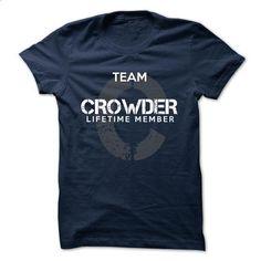 CROWDER - TEAM CROWDER LIFE TIME MEMBER LEGEND  - #black tshirt #nike sweatshirt. ORDER HERE => https://www.sunfrog.com/Valentines/CROWDER--TEAM-CROWDER-LIFE-TIME-MEMBER-LEGEND--47059419-Guys.html?68278
