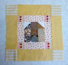 Freda's Hive: Freda's Beehive Quilt Block Tutorial