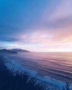 West coast New Zealand sunsets #newzealand #westcoastnewzealand #greymouth #sunset #travel