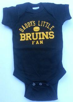 f47ac41ed Daddy's Little Bruins Fan Short Sleeve Bodysuit by DumaisDesigns, $15.00  Daddys Little, Big Little