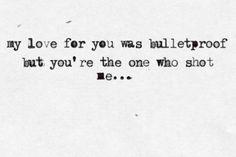 Pierce the veil Bulletproof love <3