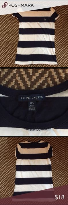 🐎 Ralph Lauren Tee 🐎 Like-new cotton tee Ralph Lauren Tops Tees - Short Sleeve