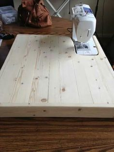 I was saving my nickels and dimes to buy a Sew Steady table but my awesome husband made this great table for me! Quilting Room, Quilting Tips, Machine Quilting, Sewing Machine Tension, Sewing Machine Tables, Sewing Tables, Sewing Desk, Sewing Rooms, Diy Sewing Projects
