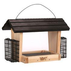 Advanced Bird Products, Suet 6-Qt Hopper Wild Bird Feeder
