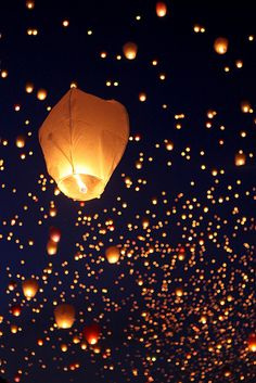 really want to buy a sky lantern and let it off somewhere lovely
