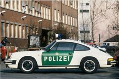 Porsche 911, Polizeiauto Germany