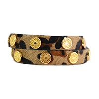 Wear this leopard-printed faux fur, leather and silver studded bracelet on its own for a simple, eye-catching accessory, or stack multiple bracelets for the perfect layered look! Wrap bracelet is crafted from genuine leather and faux fur. South Hill Designs, Print Wrap, Gold Studs, Faux Fur, Cuff Bracelets, Fashion Accessories, Silver, Leather, Jewelry