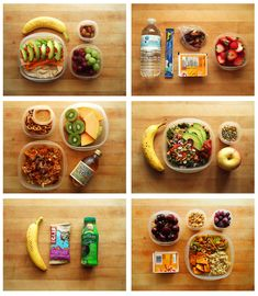 healthy snacks on the go. fit easily in your bag and are ridiculously healthy