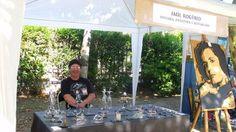 Eu, numa feira de artesanato. Visite o meu BLOG: saulrogerioartesanato.blogspot.pt