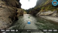 A virtual ride on the Elwha River