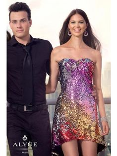 Wedding Dresses, Prom Dresses, Beautiful Designer Dresses & Formal Dresses - Alyce Short Prom Dress 4304