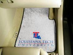 Louisiana Tech University 2 Piece Front Car Mats